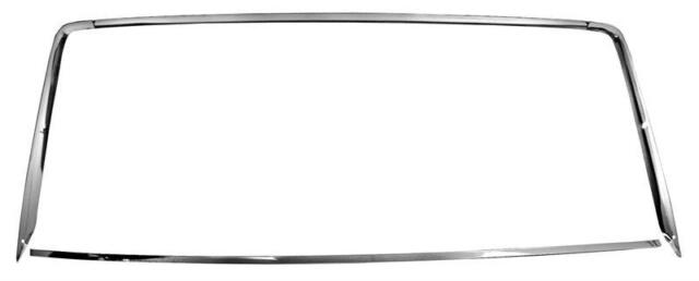 1967-68 Ford Mustang Coupe Rear Window Molding 4-Pieces ...