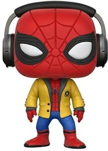Marvel-Spider-Man-Home-Coming-Spider-Man-with-Headphones-Funko-Pop-Movi-Toy