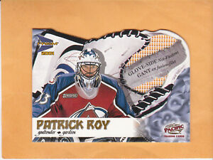 2000-01-MCDONALDS-PACIFIC-PATRICK-ROY-GLOVE-SIDE-NET-FUSIONS-2-AVALANCHE
