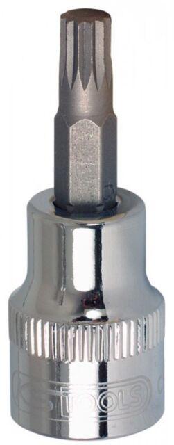 """KS Tools 1/2"""" CHROMEplus® Bit-Stecknuss für Vielzahn (XZN®)-Schrauben, kurz"""