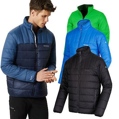Regatta Icebound Mens Lightweight Water-Repellent Quilted Hooded Jacket