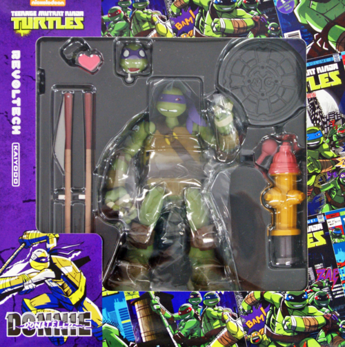 Teenage Mutant Ninja Turtles Revoltech Kaiyodo Donatello Action Figure