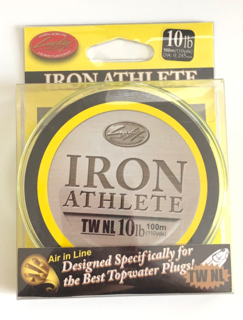 110yd Lucky Craft FC Iron Athlete Fluorocarbon Fishing Line 6 lb Test 100m