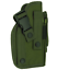 TAIGEAR MOLLE Green MOLLE Ambidextrous Pistol Holster Tactical #307 Great Value
