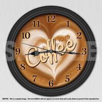 Coffee Love Decorative Wall Clock - Kitchen Decor