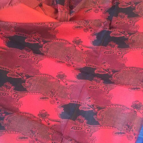 avvolgente invernale nuova lana 611 Pashmina in Sciarpa di Sciarpa in zecca Kashmir indiana lana gFHpqU