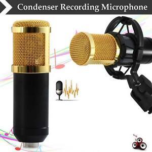 BM800-Condenser-Pro-Audio-Microphone-Black-Sound-Studio-Dynamic-Mic-Mount-UP