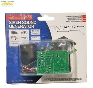 Details about Velleman Mini Kit Siren Sound Generator MK113 DIY Electronics  Science Projects