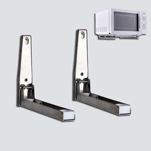 Mikrowellenherd-Universalregal-Wand-Haltewinkel-justierbarer-faltender-Halte-li