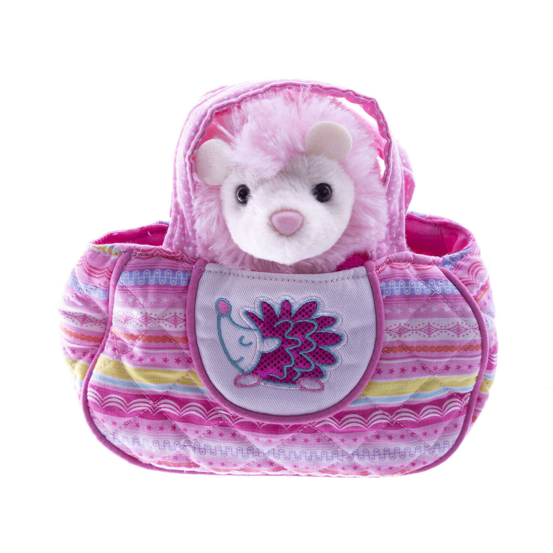 DOUGLAS Cuddle Toys Squiggles Fun Hedgehog Sassy Pet Sak - 2160 NEW