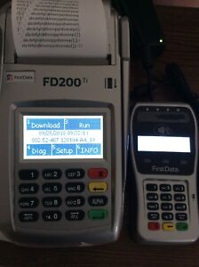 Details about First Data FD200ti Credit Card Terminal with FD-35 PIN pad