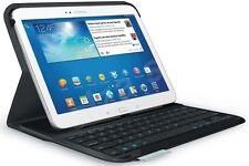 """NEW Logitech Ultrathin Bluetooth Keyboard Folio Case Samsung Galaxy Tab 3 10.1"""""""