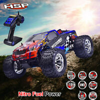 Hsp 94188 4wd 1/10 Off-road Monster Truck Nitro Fuel Gas Powered Rtr Rc Car Ab