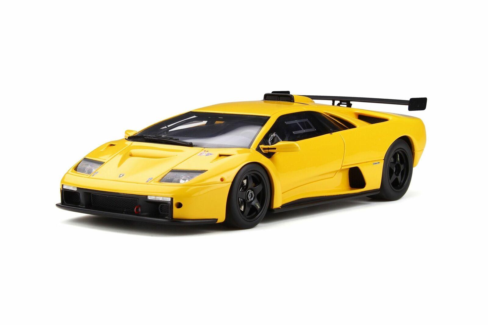 gts18509y - GT-SPIRIT Lamborghini Diablo GTR-jaune jaune - 1 18