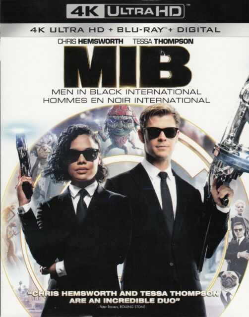 MEN IN BLACK INTERNATIONAL (4K ULTRA HD/BLURAY)(2 DISC SET)(USED)