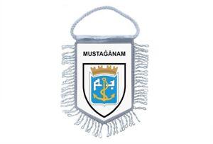 Club Flag Mini Country Car Decoration Souvenir Coat of Arms Mostaganem Algeria
