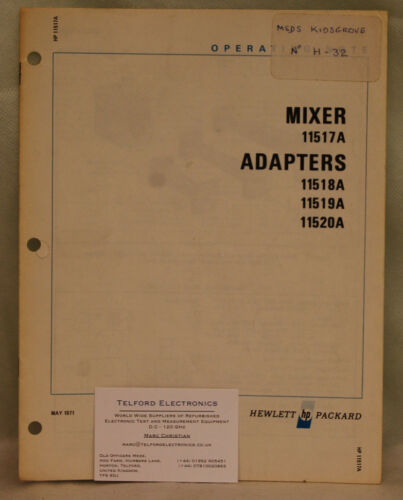 HP11517A Operating Notes