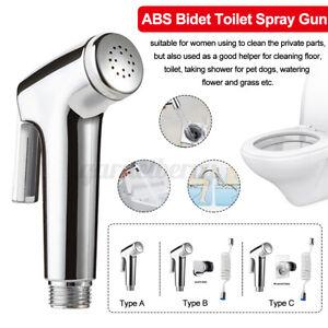 Stainless Steel Toilet Bidet Hand Held Toilet Bidet Sprayer Bathroom Shower Kit