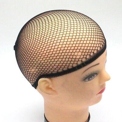 10Pcs Stretch Cool Mesh Weaving Wig Cap Hair Nets Hairnet Snood Cosplay Model