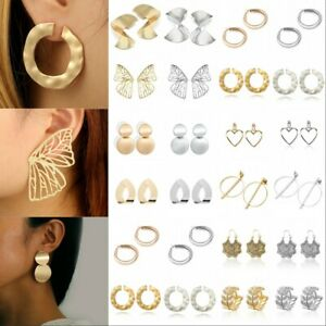 Women-Boho-Geometric-Dangle-Drop-Crystal-Acrylic-Resin-Ear-Stud-Earrings-Jewelry