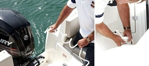 Quicksilver, Kabinebåd, fod 8