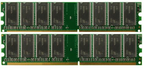 2X1GB NEW DDR Memory ASUS PC-DL Deluxe 2GB