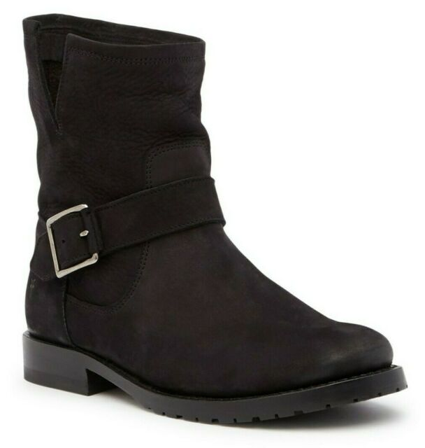 Frye Womens Natalie Short Engineer Fashion Ankle Boots
