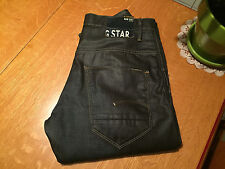 G-STAR 3301 ARC SLIM 3D RAW COATED JEANS 36 X 32 NWOT VERY NICE!
