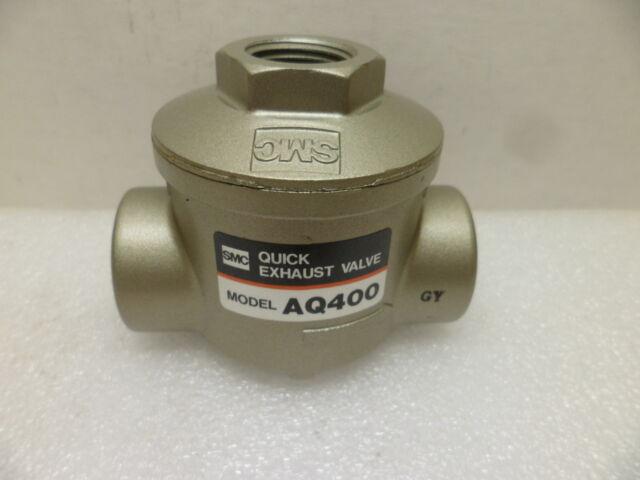 SMC AQ5000-F04 Quick Exhaust Valve NEW 1//2 in Rc 1//2 Female
