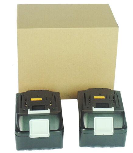 2 x 4.0AH 4000mAh BL1840 Battery for Makita BL1850 BL1815 BL1830 BL1840B BL1860