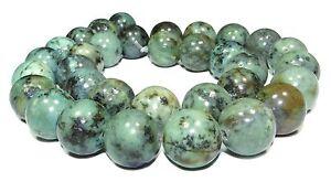 Afrikanischer-Tuerkis-Kugeln-2-3-4-6-8-10-oder-12-mm-Perlen-Strang