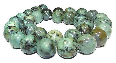 😏 Afrikanischer Türkis Kugeln 2, 3, 4, 6, 8, 10 oder 12 mm Perlen Strang 😉