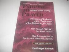 Pathway to Prayer: A Translation and Explanation ROSH HASHANAH YOM KIPPUR SFARD