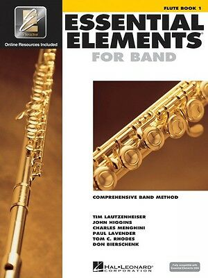 Essential Elements For Band Book 1 With Eei Flute Band Book Media Onli 000862566 Instruction Books, Cds & Video