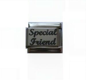 9mm-Italian-Charm-L86-Special-Friend-Fits-Classic-Size-Bracelet