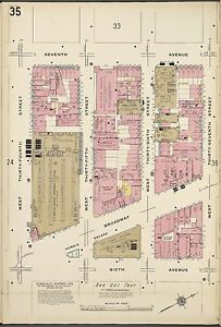 Details about 1911 SANBORN R.H. MACY & CO HERALD SQUARE MANHATTAN NY on eastern time zone map, central time zone map, bloomington map, bunker hill map, fremont map,