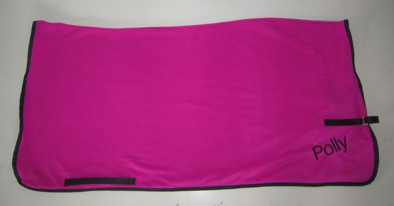 Horse Exercise or Quarter sheet FREE EMBROIDERY  Choose your size Hot PINK  for sale online