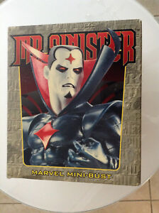 MARVEL-BOWEN-MR-SINISTER-BUST-3940-6000-RARE-MIB-UNCANNY-X-MEN-X-FACTOR-WEAPON