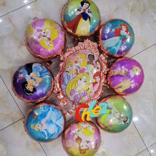 Disney Princess balloons Globos de princesas de Disney