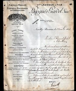 NEUILLY-PLAISANCE-93-CARRIERES-PLATRIERES-PLATRES-034-LAGOGUE-amp-GARDEL-034-en-1908