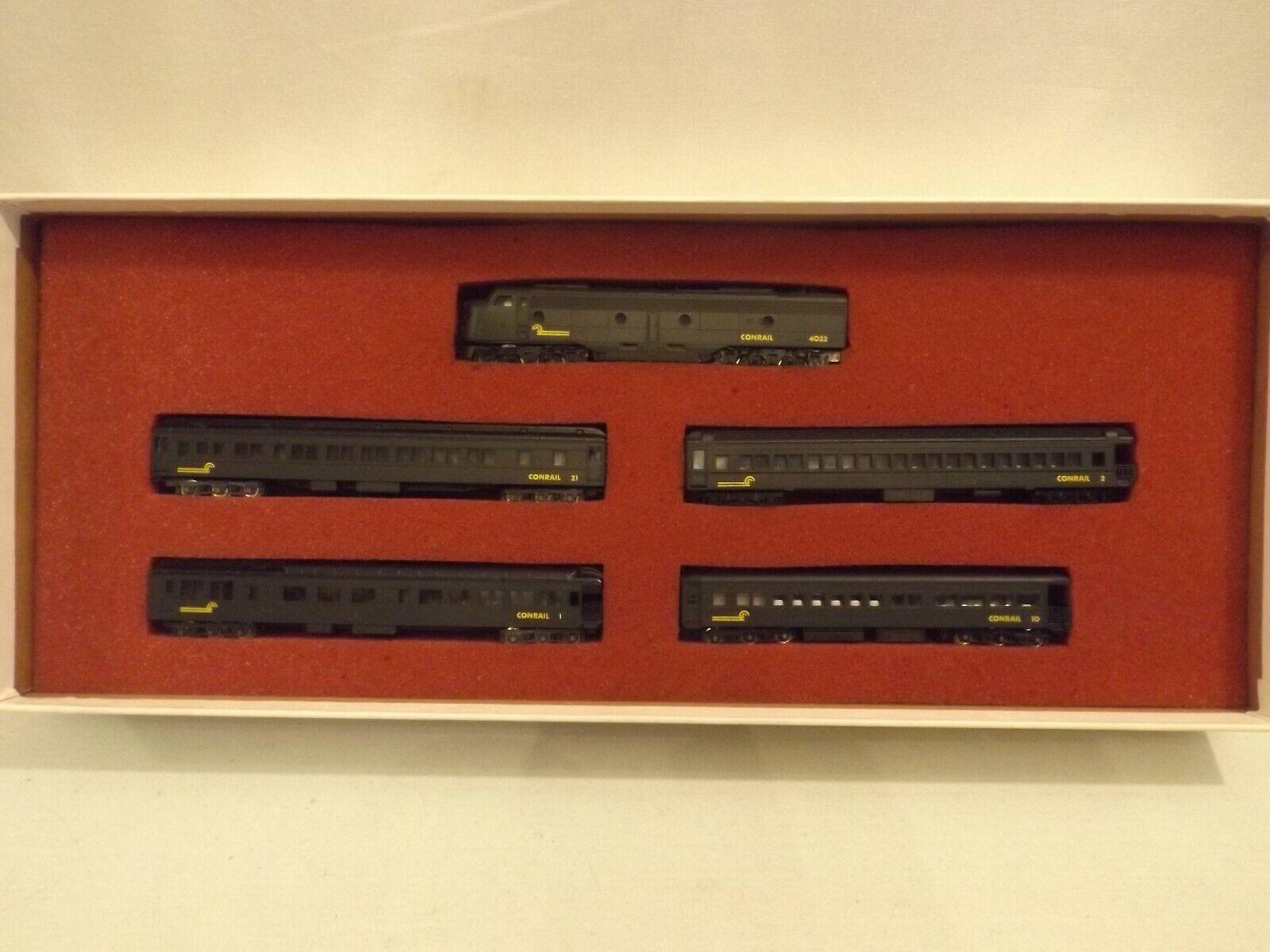 N calibre Concor Conrail Inspección Conjunto de Tren En Caja Original