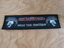 THE EXPLOITED - BEAT THE BASTARDS(NEW)SEWON STRIPPATCH OFFICIAL BAND MERCHANDISE