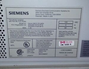 Siemens Hicom 300 Cs Installation Manual