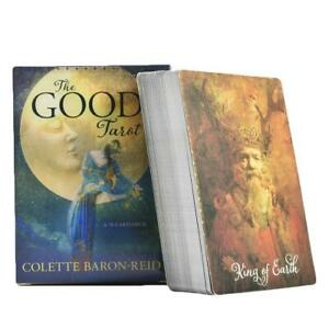 The-Good-Tarot-Cards-Colette-Baron-Reid-78-Card-Deck-amp-Book-racle-Card-Game-Set