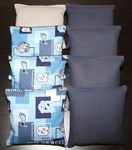 University of NORTH CAROLINA TARHEELS Cornhole Bean Bags ACA Regulation UNC Bags