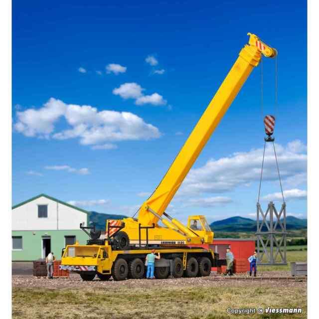 Kibri 13012 1/87 Modellino Ho Kit Gru Telescopico Punta Da Freccia IN