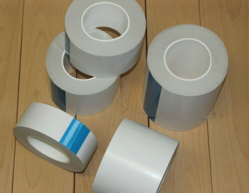 Acrylic DOUBLE SIDED TAPE GP Sticky High Tack 50 Metre Rolls 5 Sizes available
