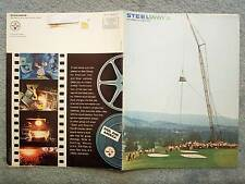 1965 SEPTEMBER OCTOBER STEELWAYS MAGAZINE TV STUDIO JOHNNY CARSON, PAPER MAKING