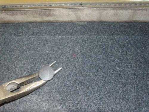 PEUGEOT 205 PVC HECKSCHEIBE 1984-1992  mit REISSVERSCHLUSS mit INNENHIMMEL