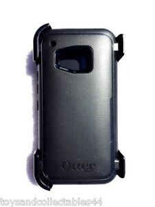 best service c8d2c 691bc Details about OtterBox Defender Series Phone Case with Belt Clip Holster  for HTC One M9 Black